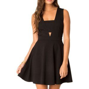 Black Swan Coleen Cut Out Fit and Flare Dress | 8